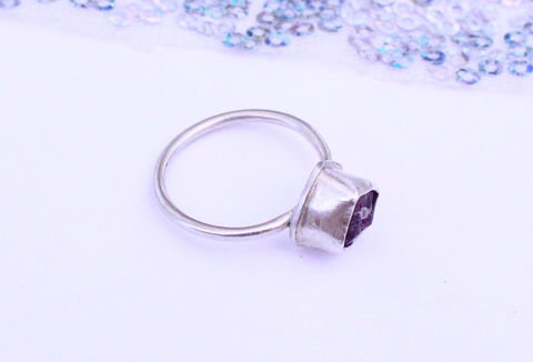 Raw,Ruby,Gemstone,Ring,-,OOAK,gemstone ring, rough, raw ruby, natural, sterling silver, 925,  jewellery, jewelry, statement ring