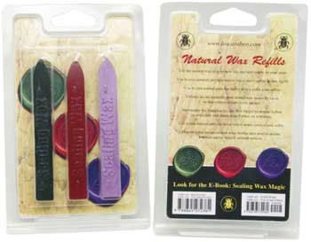 Stationary,Supplies,Sealing,Wax,Kit,,refill,kit,-,Red,Purple,Green,Sticks,include,wick,Old World Style, Letter writing tools, Stationary supplies, Wedding invitations, event invitations, Celtic, Wiccan, A refill set, three color sticks, wax sticks, cotten wick, Red, green, Lavender, Sealing wax refill