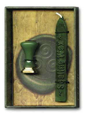 Stationary,Supplies,Sealing,Wax,Green,with,wick,Kit,,Celtic,Wicca,Stamp,Design,-personalize,customize,invitations,Sealing Wax Kit- green wax, Wicca Triquetra design-Natural Sealing Wax-Old World Style-Letter writing tools-Stationary supplies-Wedding invitations-event invitations-Celtic symbol-Wiccan tridition-wiccan writing tools- power of three