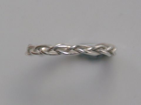 Braided Ring in Sterling Silver - product images  of