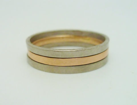 Bicolour Gold Ring - product images  of