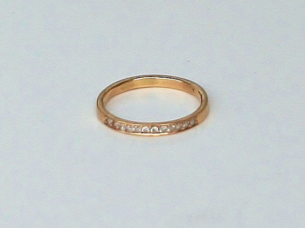 Delicate Diamond and Gold Ring - product images  of