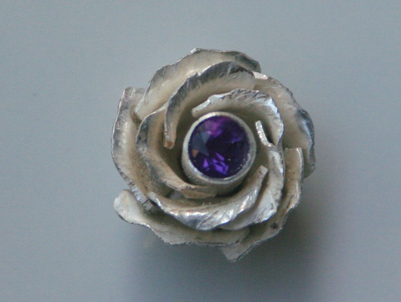 Rose with Gemstone Center - product images  of