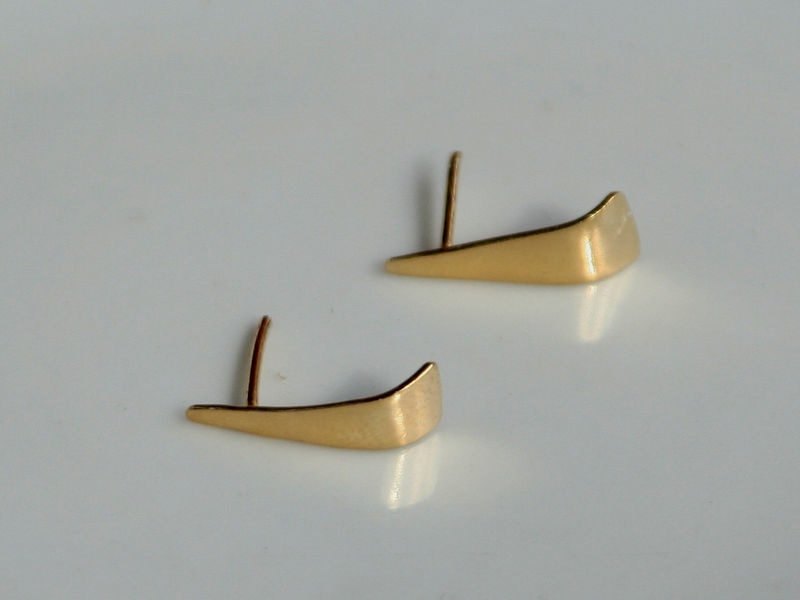 Gently Curved Earrings - product images  of