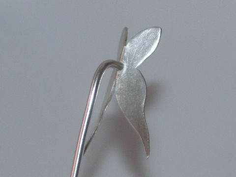 Sterling silver Butterfly Hair stick - product images  of