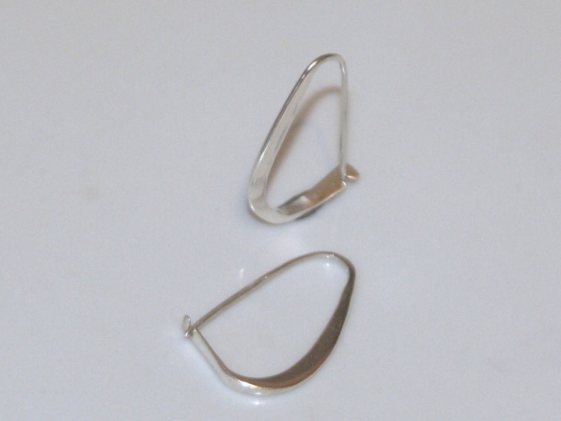 Forged earrings Sterling Silver - product images  of