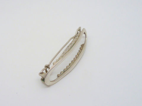 Hand forged Hair Barrette in Sterling Silver - product images  of