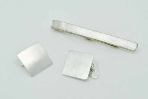 Groomsman,Set,Accessories,Men,beatriz_fortes,contemporary_jewelry,sterling_silver,silver_tie_bar,silver_tie_slide,mens_jewelry,minimalistic,wedding,monogram,wedding_set,silver_cufflinks,grooms_set,groomsmen_gift,sterling silver