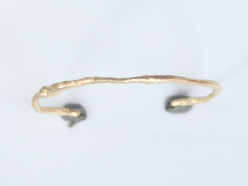 Fused Gold Cuff - product images  of