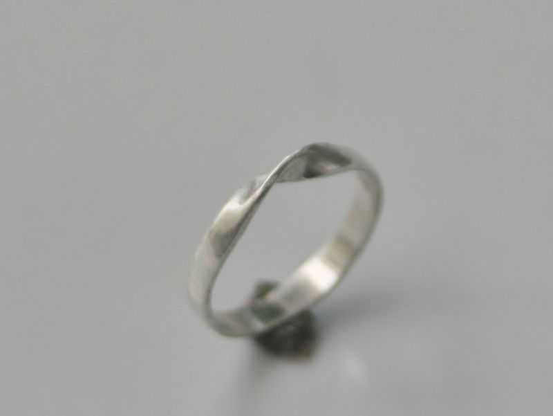 Mobius Ring in Sterling Silver - product images  of