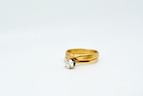 Gold Moebius Ring - product images  of