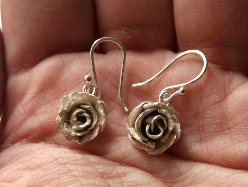 Rose Earrings - product images  of