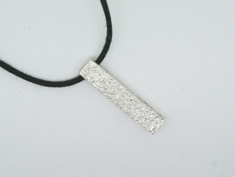 Druzy Like Silver Pendant - product images  of