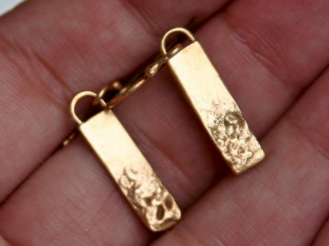 Hills - Fused Gold Earrings - product images  of