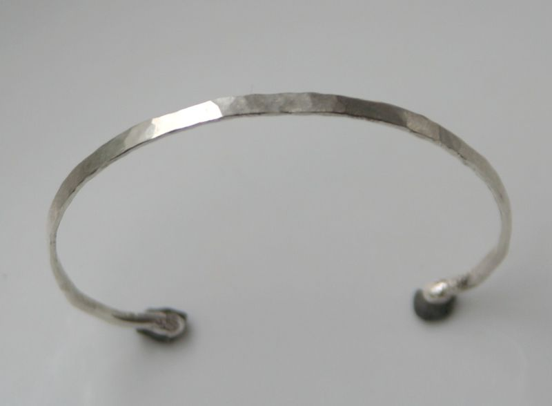 Thin Forged Bracelet - product images  of