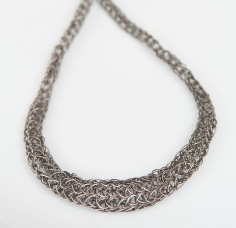 Graduated Woven Necklace - product images  of