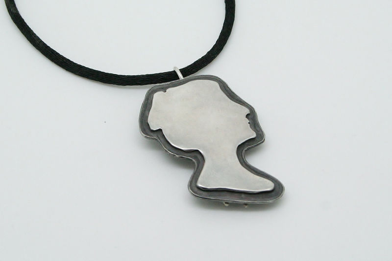 Modern Cameo Pin/Pendant - product images  of