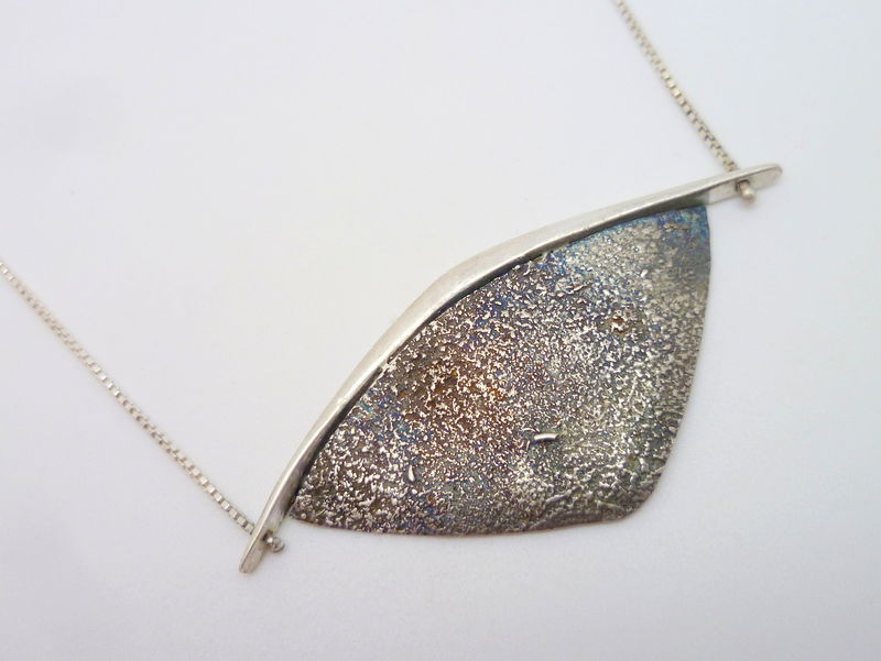 Hawk Eye 5 - Sterling Silver Necklace - product images  of