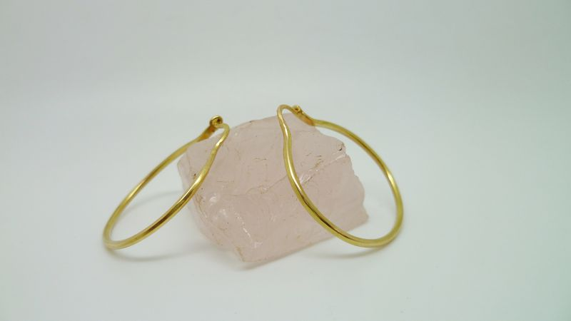 Simple Gold Hoops - product images  of