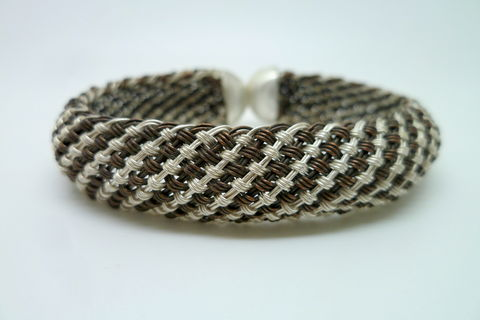 Striped Braided Cuff - product images  of