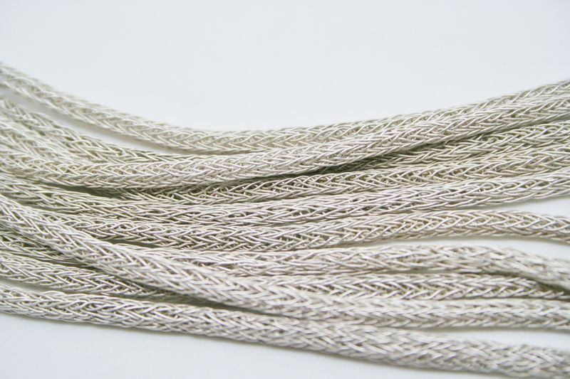 Multiple Strands Graduated Woven Necklace - product images  of