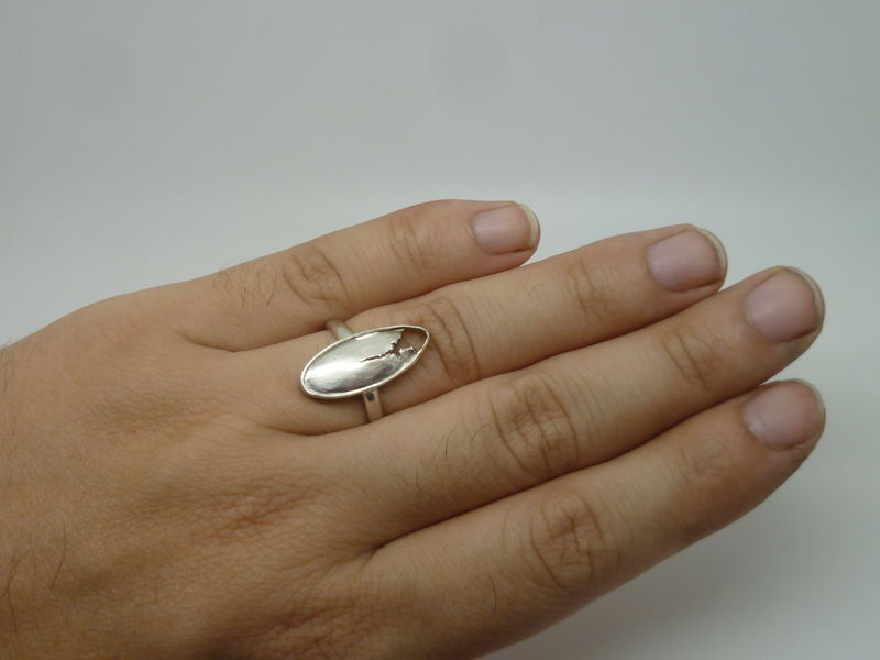 Torn Ring in Sterling Silver - product images  of