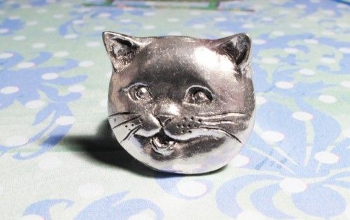 Happy Cat Ring, lolcats happycat british shorthair cat lady - product images  of