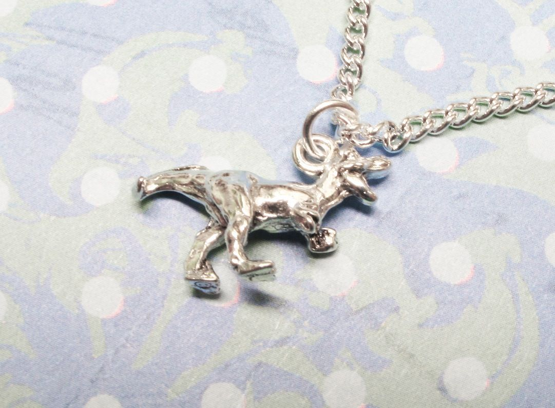 jewellery pendant devine necklace tatty gold dinosaur fullsize details