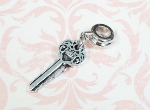 Little,Key,Charm,,221B,inspired,by,Sherlock,,for,european,bracelet,221B key, charm, pandora, bracelet, sherlock, sherlock holmes, baker street, key, small, geek, nerdy, geek chic, european style