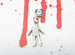 Zombie Charm, for european bracelets, silver pewter undead horror - product images  of
