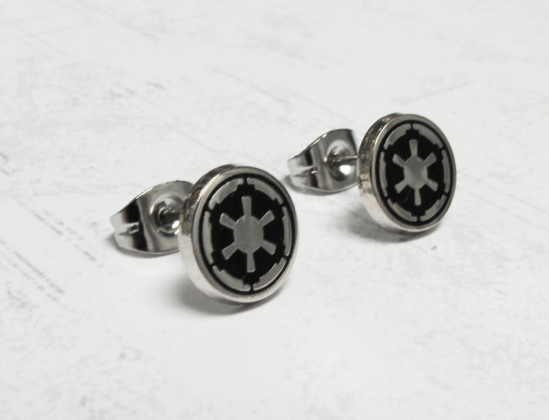 Star Wars Empire Stud Earrings, stainless steel - product images  of