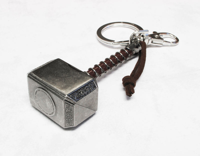 Thor's Hammer Keychain - product images  of