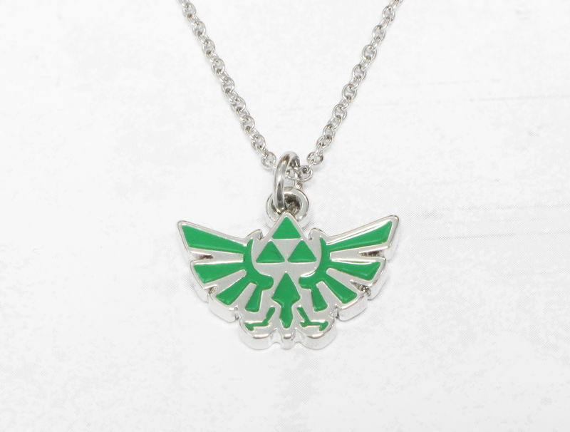 Legend of Zelda Hyrule Green Necklace - product images  of