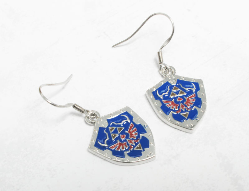 Legend of Zelda Hylian Shield Earrings - product images  of