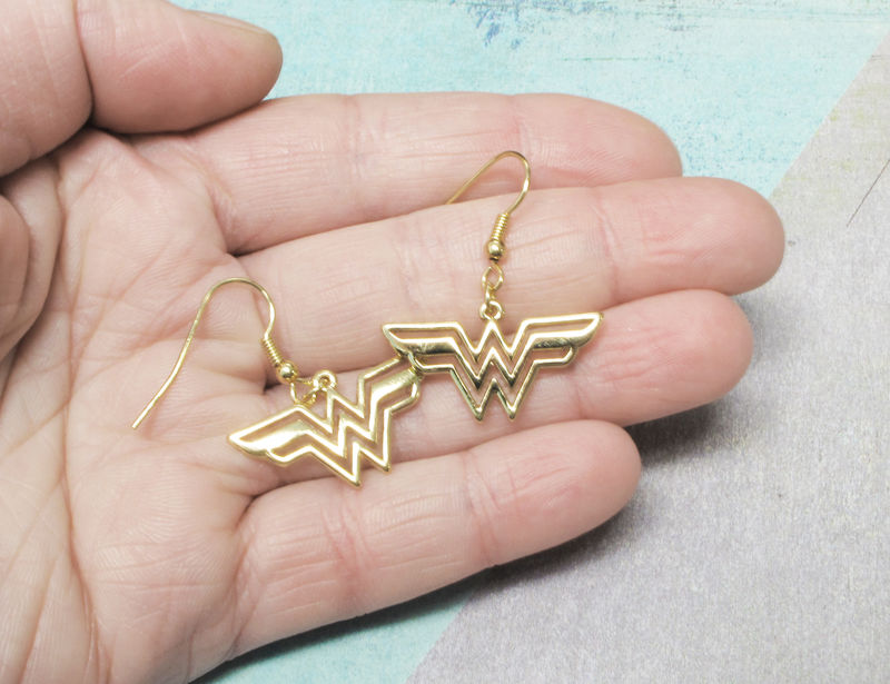 Wonder Woman Dangle Earrings - product images  of