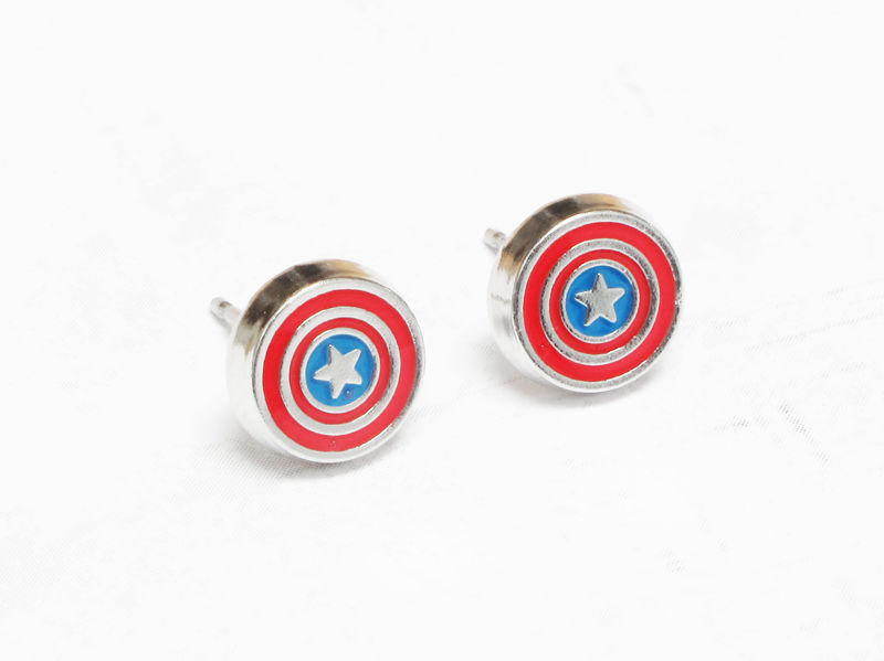 Captain America Stud Earrings - product images  of