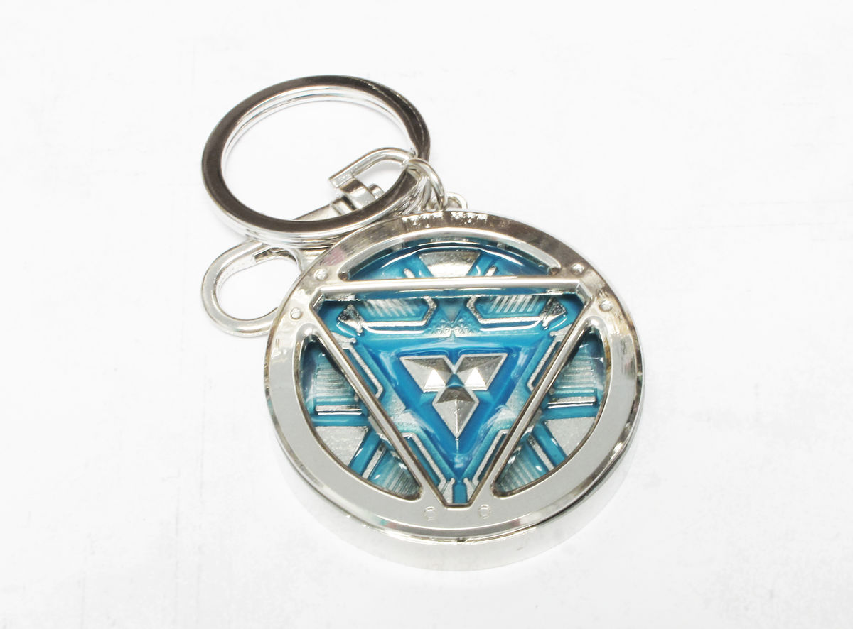 Glow in the dark arc reactor keychain pinznthingz glow in the dark arc reactor keychain aloadofball Image collections