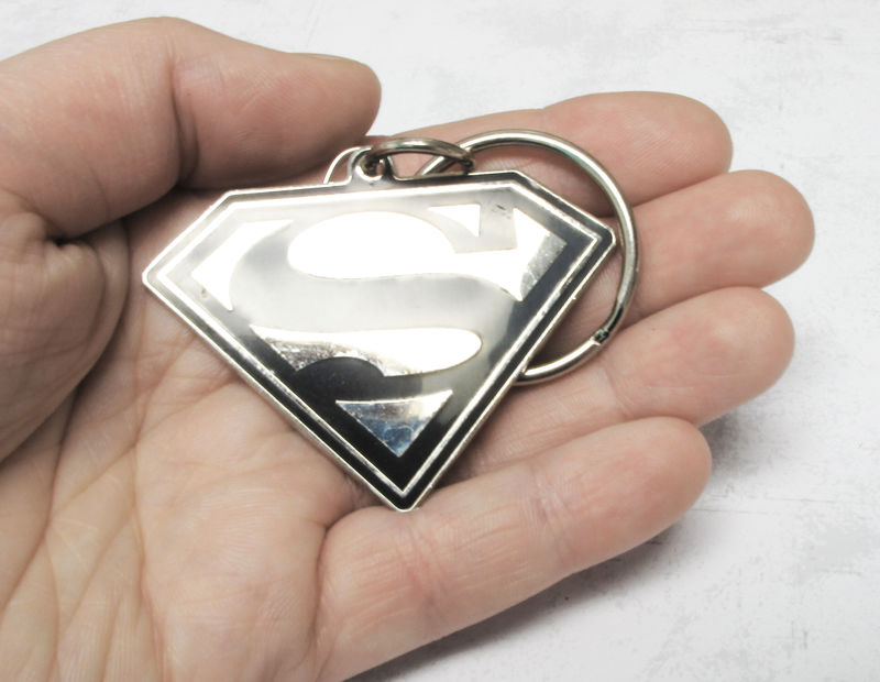 Superman Enamel Key Chain - product images  of