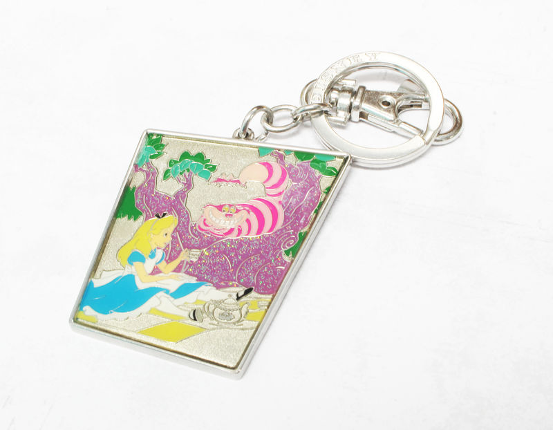 Alice in Wonderland Keychain Alice and Cheshire - product images  of