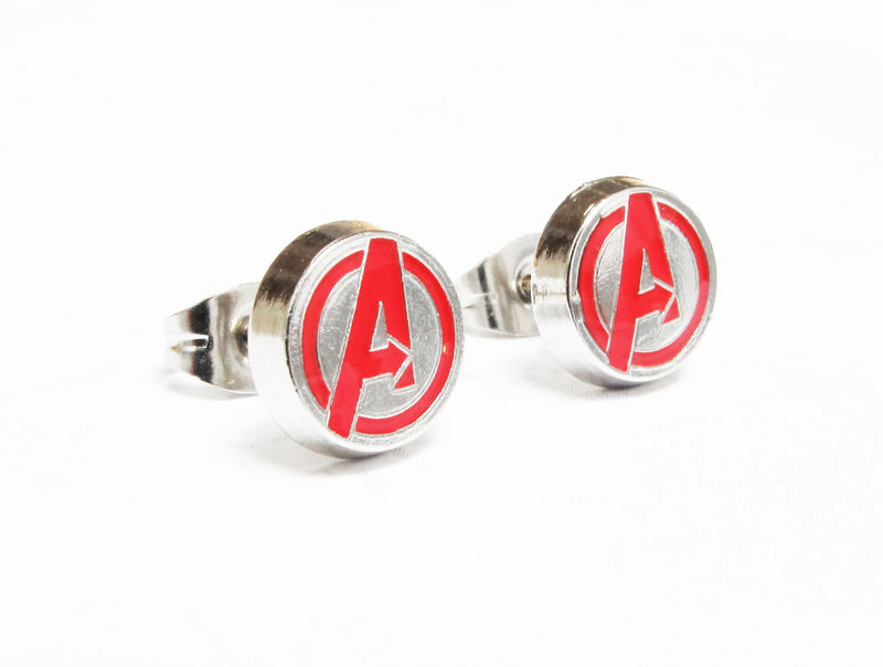 Avengers Logo Stud Earrings - product images  of