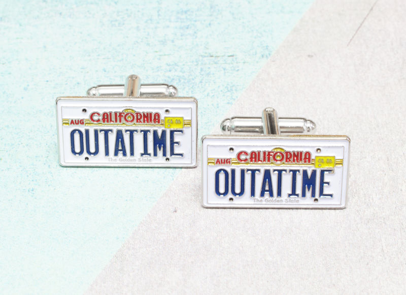 California License Plate Cuff Links - product images