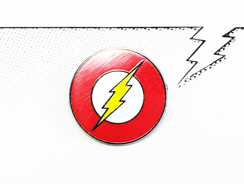 The Flash Enamel Pin - product images  of