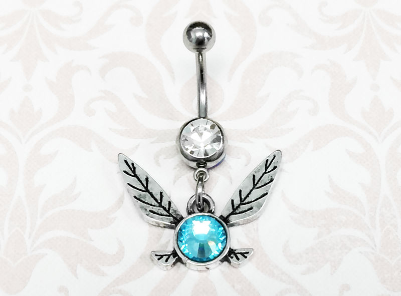Legend of Zelda Navi Belly Ring - product images  of
