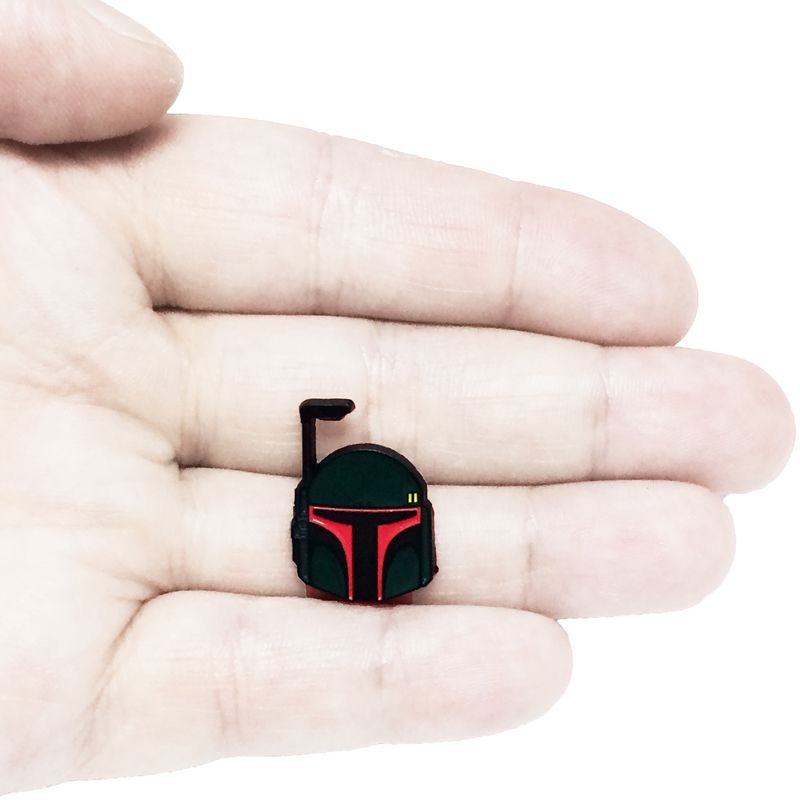 Star Wars Boba Fett Enamel Pin - product images  of