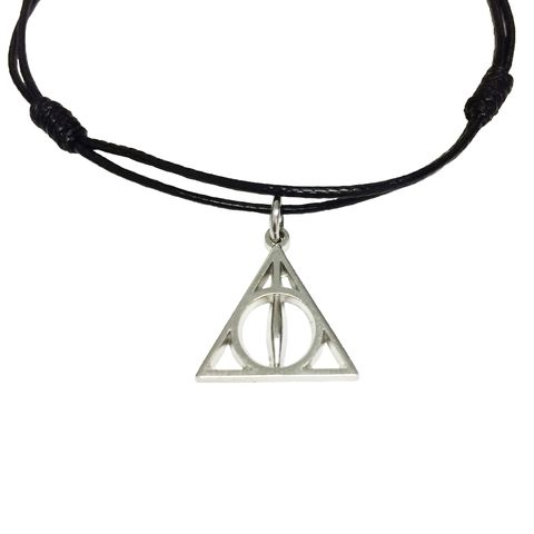 Deathly,Hallows,Bracelet,/,Anklet,harry potter, deathly hallows, bracelet, anklet, ankle bracelet, adjustable, triangle, potterhead, geeky, mens