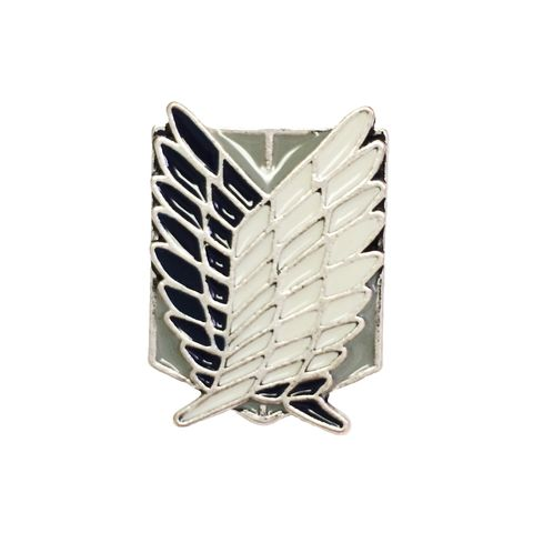 Attack,on,Titan,Wings,of,Freedom,Pin,Small,attack on titan, enamel pin, SNK, shingeki no kyojin, wings of freedom, scouting legion, badge, brooch, emblem