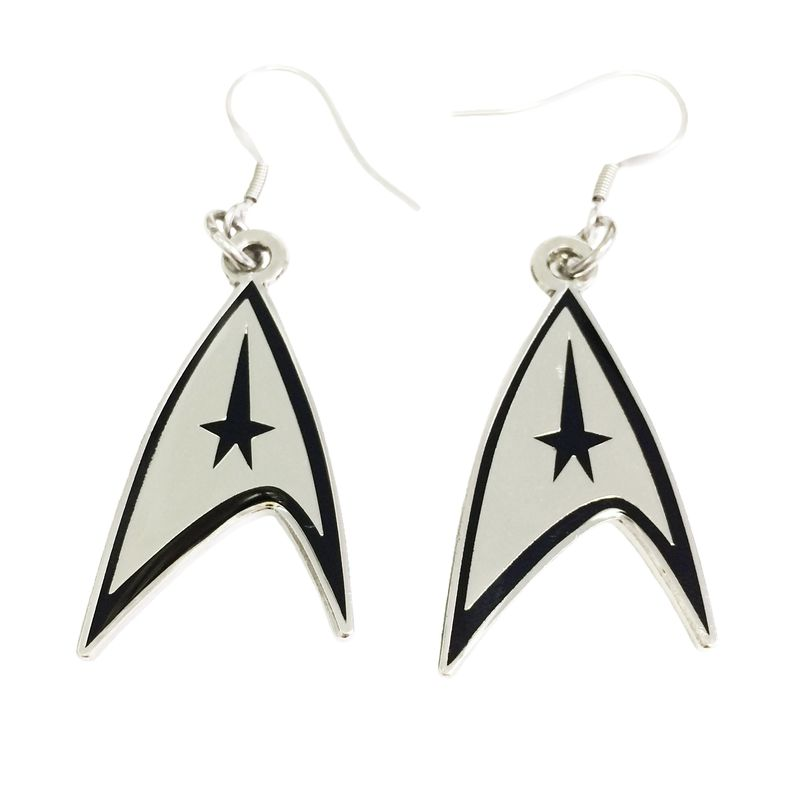 Star Trek Insignia Earrings - product images  of