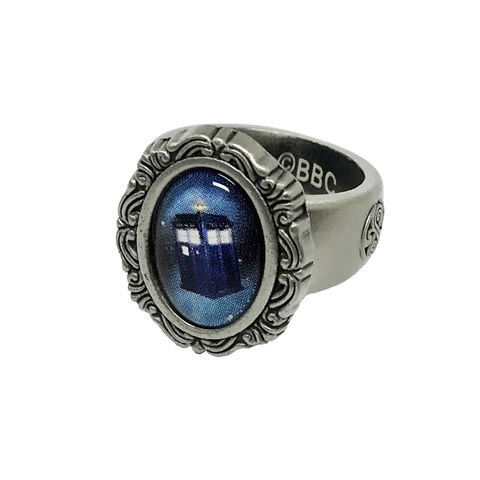 Doctor,Who,TARDIS,Cameo-style,Ring,doctor who, tardis, TARDIS, ring, cameo, feminine, T.A.R.D.I.S. woman doctor, female doctor, dr who