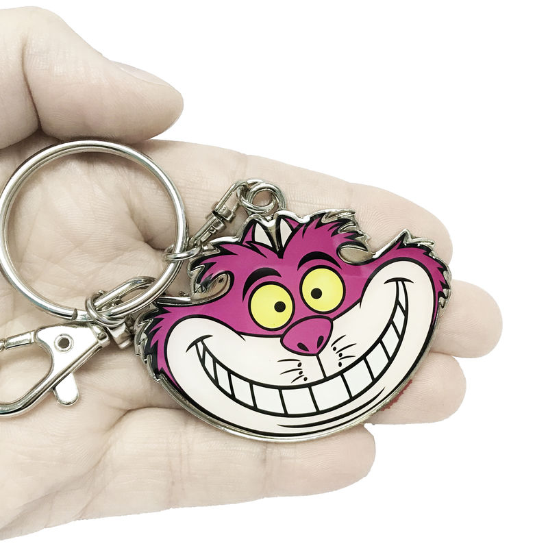Cheshire Cat Colour Keychain - product images  of