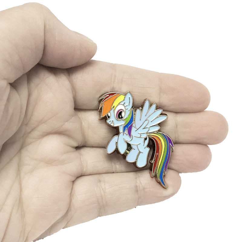 My Little Pony Rainbow Dash Enamel Pin - product images  of